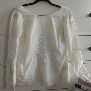 Banana Republic Blouse with embroidery